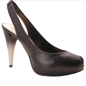 Jessica Simpson Malay Peep Toe Slingback. Size 6.5
